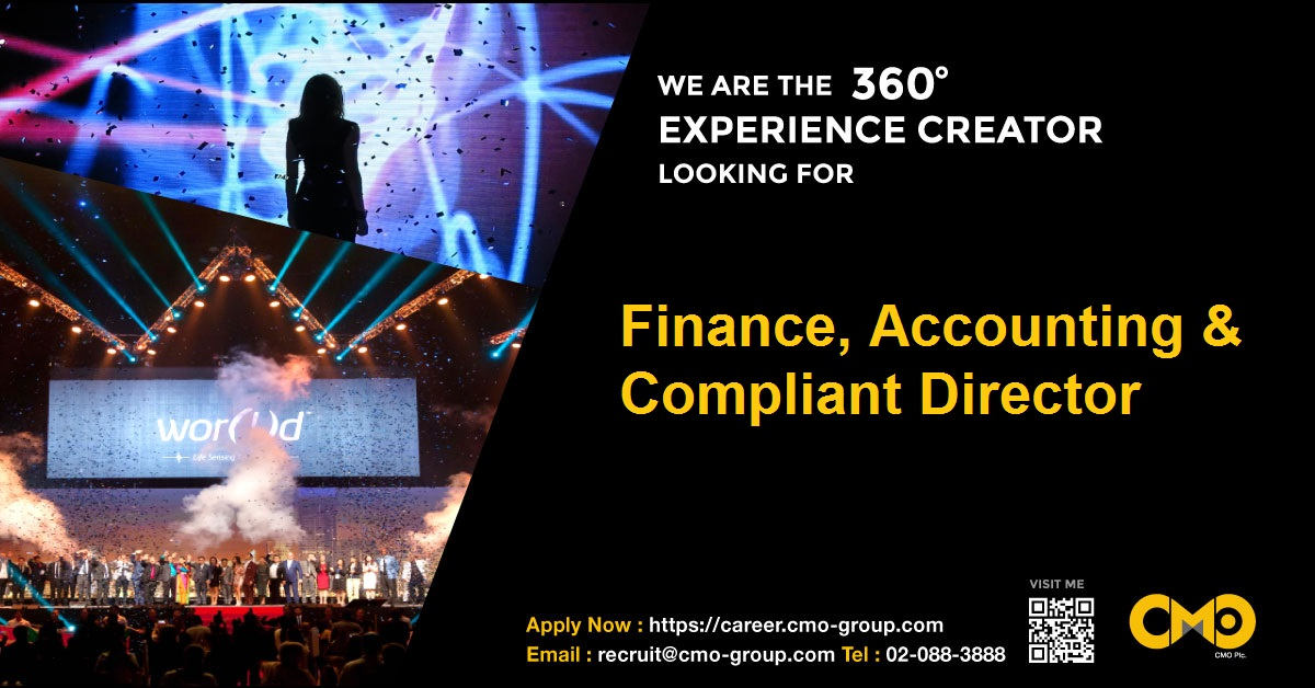 CMO01_Finance, Accounting & Compliant Director